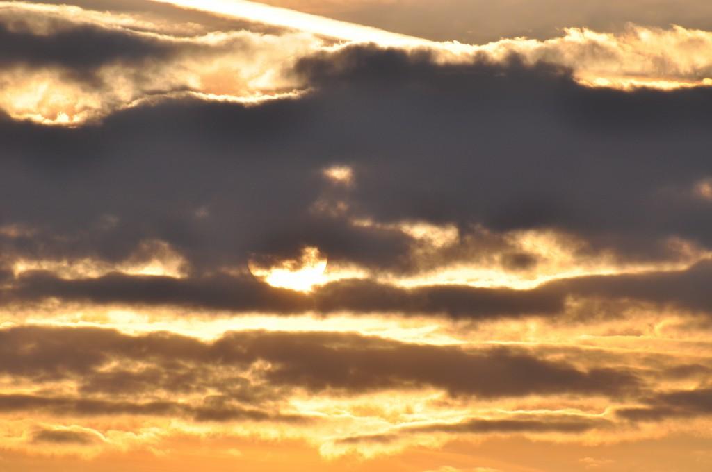 a backlit sun-pocalypse of cloud